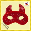2012 fashion red halloween mask with horn and stick drill