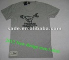 2012 new design men t-shirt