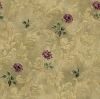 special design mix and macth flower pvc wallpaper