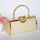 2690-3# Wholesale beautiful ladies metal frame hard prom party bags handbags fashion