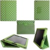 for ipad2 new PU leather case,with 2 screen ,more discount