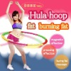 Plastic fitness hula hoop ring for body exercise