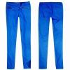 Ladies coated royal blue denim jean (B0002084)