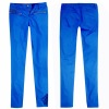 Ladies coated royal blue denim jean (B0002084)