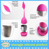 Leaf shape Stainless Steel Silicone tea infuser