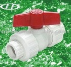 PPR GRAY plastic compressioned ball valve