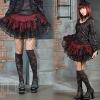Cake nets gauze skirt Wavy edge princess short skirt 61092 gothic lolita skirt