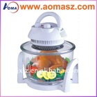High quality Electric 7L Mr T halogen flavor wave turbo oven AM-TVF005