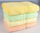 Cheap Solid Color Dyed bathTowels,100% Cotton