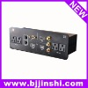 with HDMI,VGA,AV,US plug socket multimedia panel