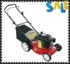 "4-stroke 18""hand push petrol lawn mower"