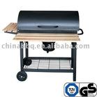 Barrel bbq grill