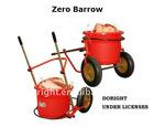 Zero wheel barrow