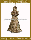 Mini Gold Tassel for Decoration