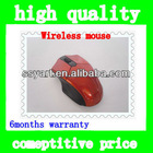 New 2.4G Wireless Optical Mouse/Mice Red + Mini USB Receiver for PC