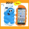 2012 newest cute cartoon 3d soft silicone case for iphone 5 case