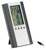 Indoor and Outdoor Thermometer Clock