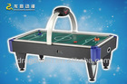 2012 new and attractive designed coin operated electric superior wooden air hockey table