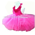 girl's princess costume; hot pink princess dress
