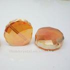 shell shape crystal beads