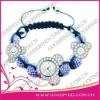 2012 Custom Design Fashion Ladies Jewelry shamballa watch
