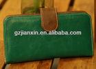 South Korea high quality lady purse colorful wallet card bag elegance dark blue female bag