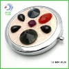 foldable double sided Makeup pocket gem Mirror