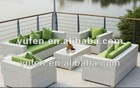 SGS-TESTED poly wicker set sofa furniture--PERFECT