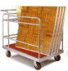 four casters hotel dance plate trolly