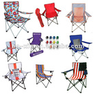 folding beach chair with cup holder