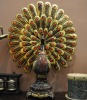 SPA Decor Large Proud Peacock with Apyroti BY-S-1154