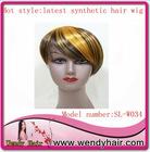 Popular colorful fashion wigs