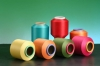 Polyester Spandex Covered Yarns