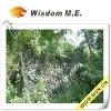 Woodland Camouflage Net with 5x5cm backing mesh