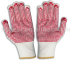 Nylon glove-13Guage with PVC dots