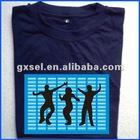 EL Flashing T shirt