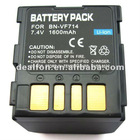 7.4V 1600mah camera battery back for JVC BN-VF714U