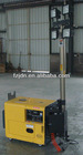 Telescopic Mast Electric Portable Led Mobile Light Tower