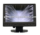7 inch touch screen with vga,16:9,DC12V Input