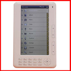 7 inch TFT Ebook reader Electronic books