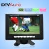 7 inch ISDB digital TV for Brazil One video input