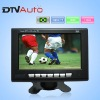 7 inch ISDB digital TV for Brazil One video input