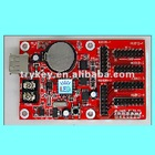LED control card support U disk function