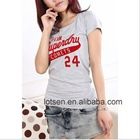 2012Super,Quick Dry,Leisure Short Sleeve Lady T-shirt