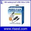 5 Meters Waterproof Mini Flexible Endoscope USB Camera