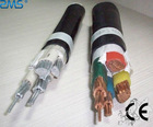 low voltage flame-retardant PVC cable