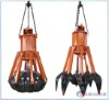 industrial chain pendant pneumatic grab bucket