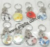 key chain with beautiful cartoon patterns (3300)