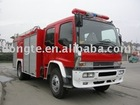 Hongyan 8tons foam fire engine