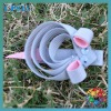 cute mouse ribbon hair clips for baby decoration cute ribbon clips